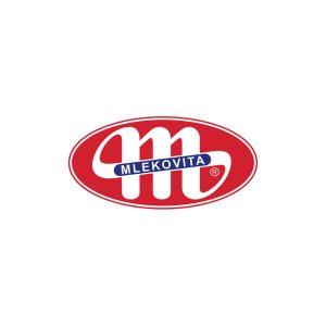 Логотип Mlekovita