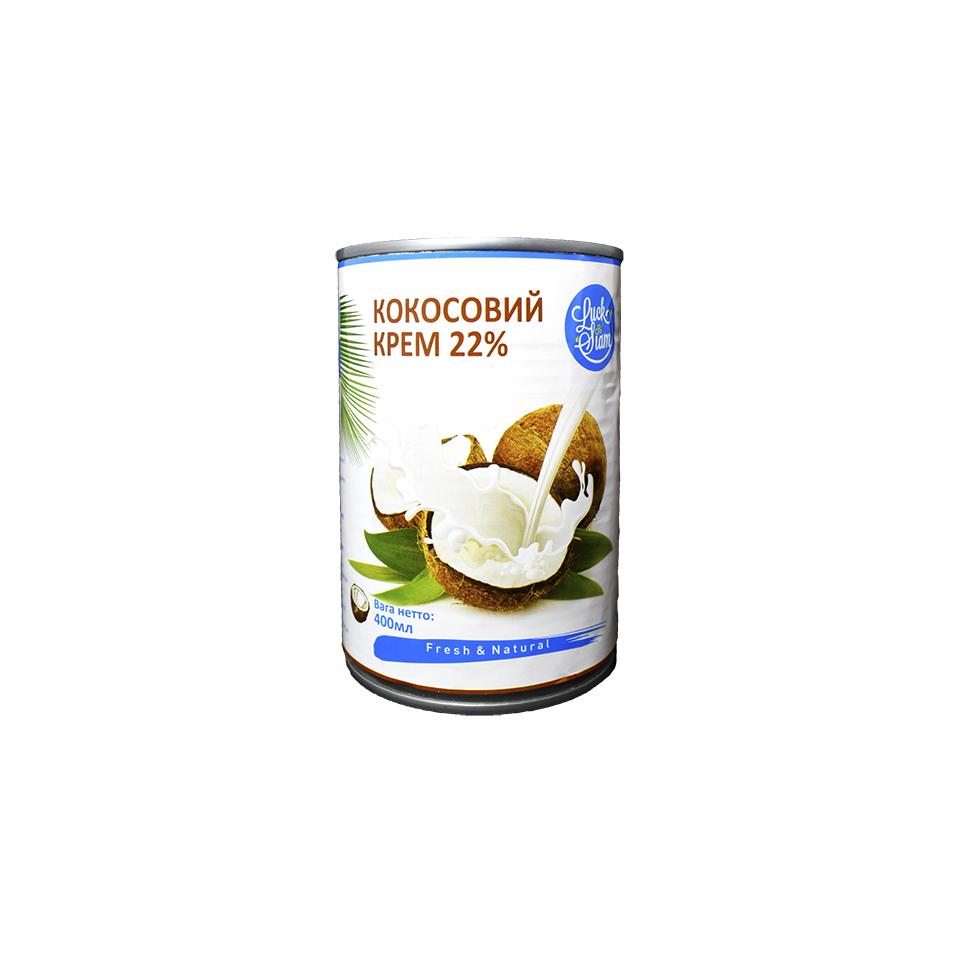 Кокосовий крем 22 %