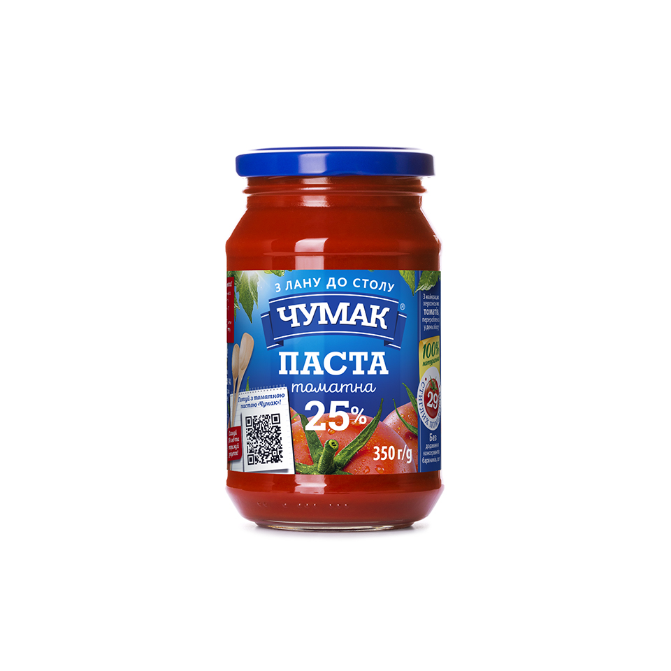 Томатна паста Чумак